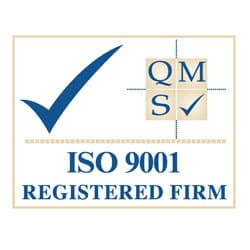 QMS ISO9001 Quality Assured Firm