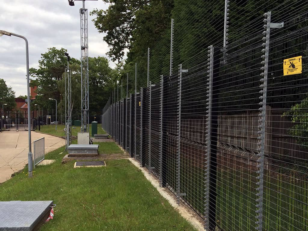 PulseSecure Enhanced Pulse Monitored Electric Security Fencing