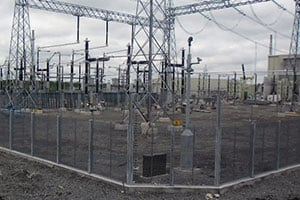 HV Switching Station Security Eirgrid