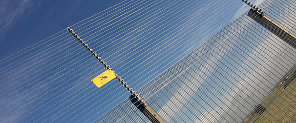 TriSecure Complete Perimeter Detection System electric security fencing